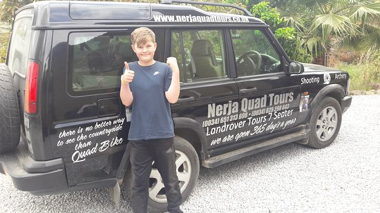 Nerja Quad Tours: I and my son loved it!