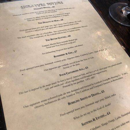 The Cauldron Magical Cocktail Experience Photo