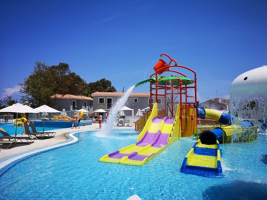 Narcissos Waterpark Resort: Kids section of the waterpark