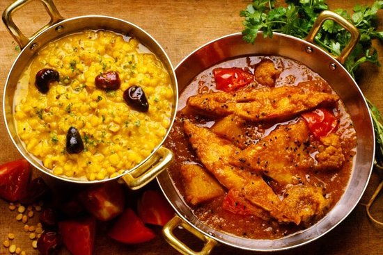 Spice of India: JAAL MURGH AND TARKA DALL