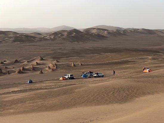 Shahdad Kalouts: Kalut campsite