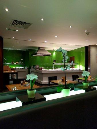 ฮอลิเดย์อินน์ลอนดอน บลูมส์เบอรี่: 조식 식당