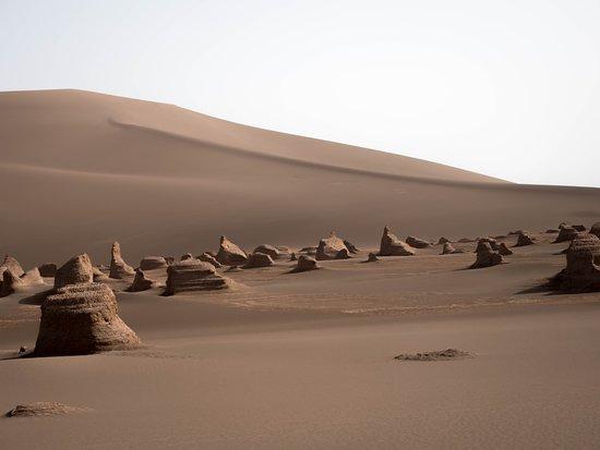 Shahdad, Iran: Chocolate-colored desert