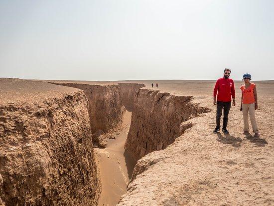 Shahdad, Iran: Snake tongue canyon
