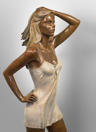 Alain Choisnet Sculpteur: Juliette - bronze - H 127 cm