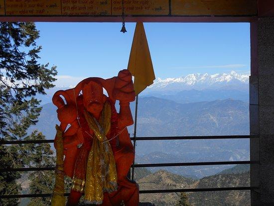 Surkanda Devi Temple: Hanuman ji ..