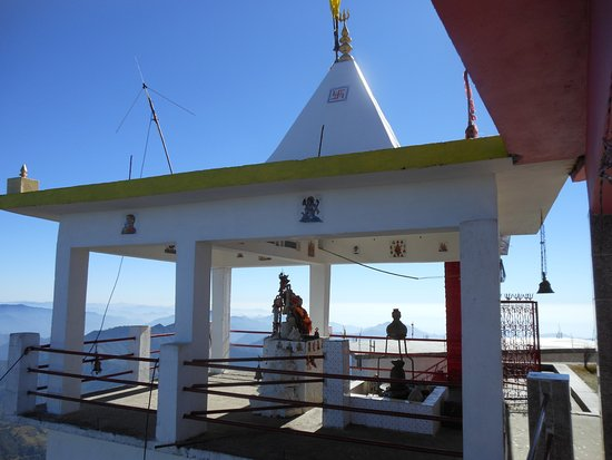 Surkanda Devi Temple: Another view .. of the mountains
