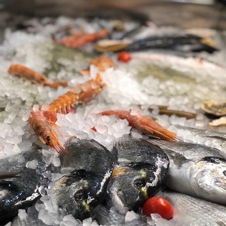 Ristorante Pizzeria al Vesuvio: Pesce fresco