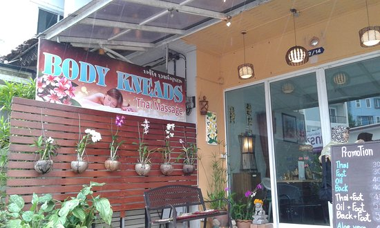 Pak Nam, Thailandia: Body Kneads Thai Massage