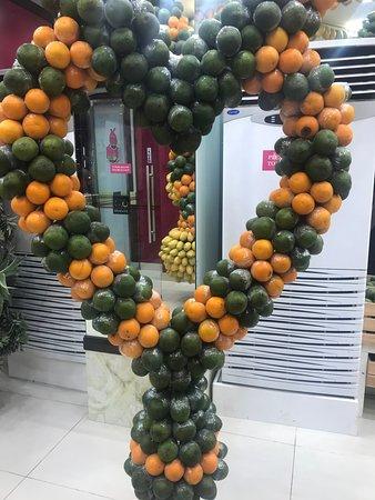 Juice World: More fruit decorations! Heart shaped!