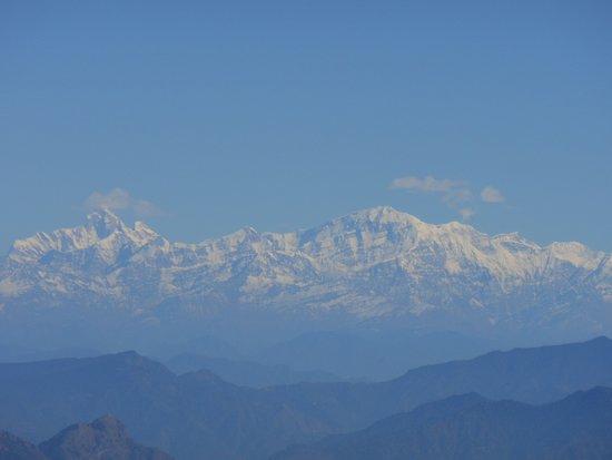 Surkanda Devi Temple: A closer view .. SwargRohini