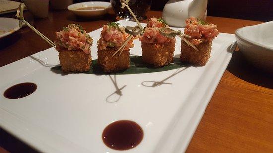 Nobu Moscow Restaurant: Fried sushi?!