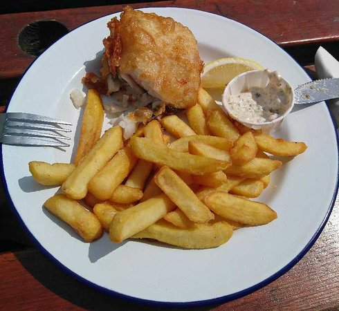 Griggs of Hythe: Cod and Chips Mmmm!