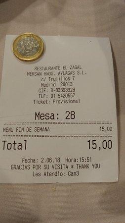 Ảnh về El Zagal Restaurante