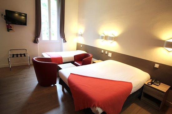 Hôtel des Thermes: Chambre double ou triple