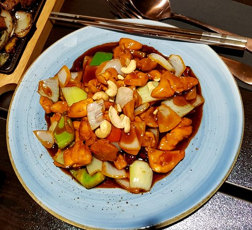 TAO Restaurant & Bar: Vegetables with chicken and cashew nuts - good