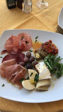Hotel Villa Angela : Delicious lunch
