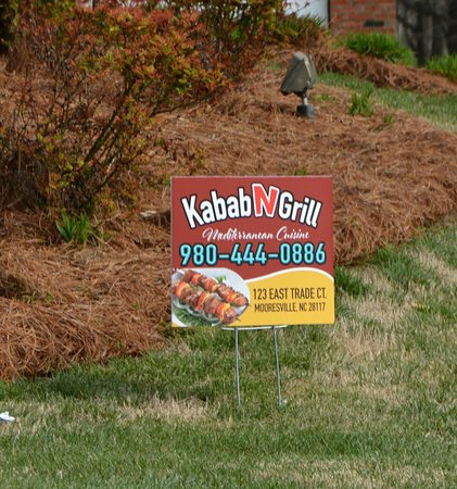 Kabab N Grill: Roadside Advertising