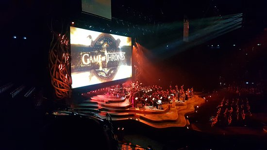 AccorHotels Arena: Game of Thrones Live Concert Experience.
