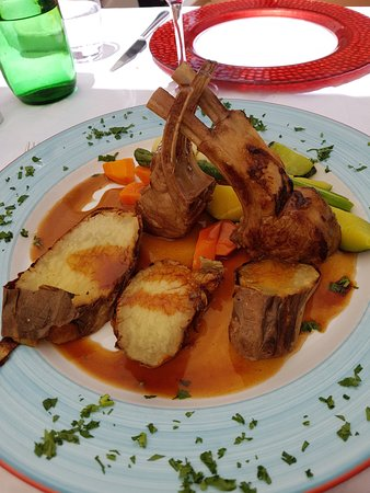 Regional Flavours : Rack of lamb