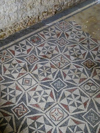 Villa Romana del Casale: mosaici geometrici