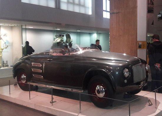 Science Museum: Gas Turbine car