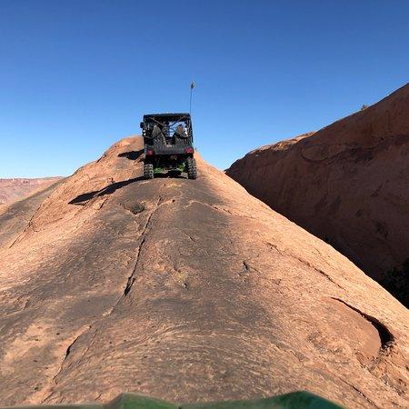 Hell's Revenge 4x4 Off-Roading Tour from Moab ภาพถ่าย