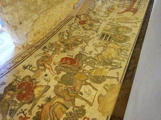 Villa Romana del Casale: mosaico con scene