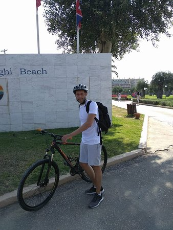 Corfu Bicycles: Great cyclist from UK