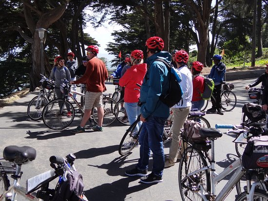 Blazing Saddles Bike Rentals and Tours: Meet lots of people in your group