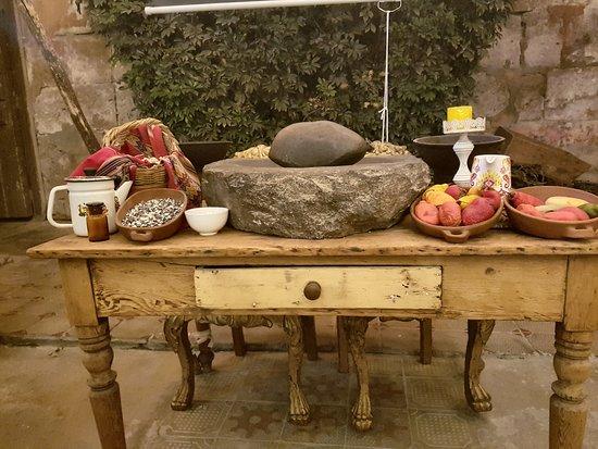 Victoria Picanteria Democratica : Todo preparado para clases de cocina tradicional arequipeña