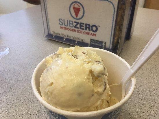 great, very solid ice cream - Picture of SubZero Ice Cream