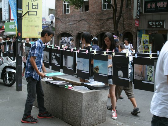 อินซาดง: 徒步區文化展品