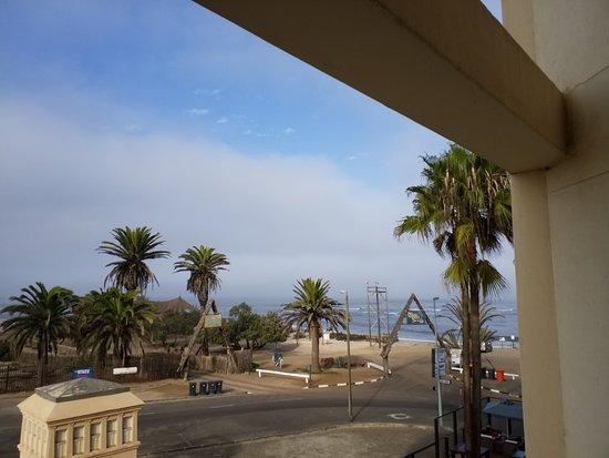 Beach Hotel Swakopmund: zicht uit de kamer