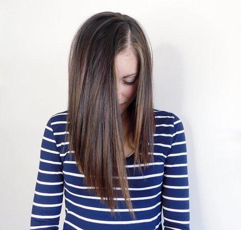 Cedarville, MI: Long and beautiful hair.