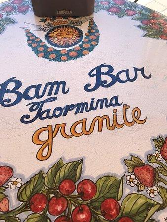 Bam Bar: Best Granitas
