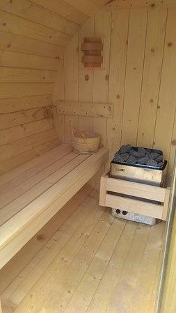 Georgioupolis Beach Hotel : GB Open Air Spa Sauna