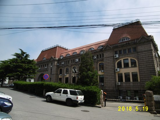 Qingdao, China: こちらは裏(塩務局?)