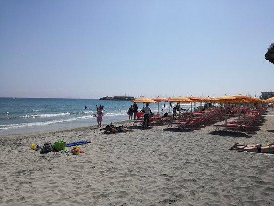 San Foca, Italie: La spiaggia
