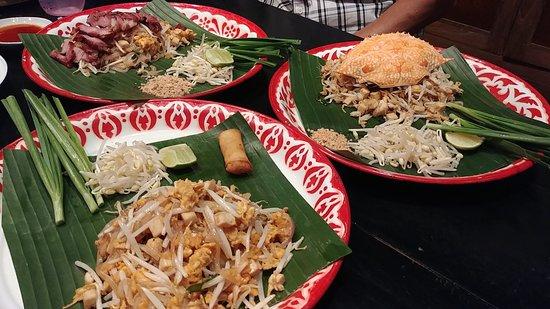 Baan Phadthai: The food.