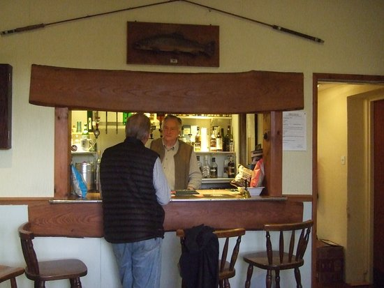 Kinbrace, UK: The bar