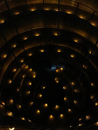 Ruakuri Cave: This spiral staircase takes you into the caves and is also your way out