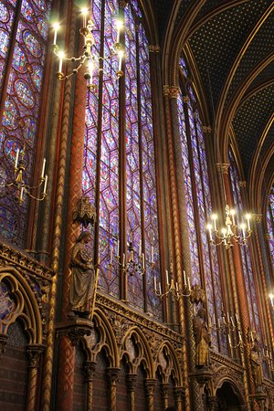 Sainte-Chapelle: march 2018