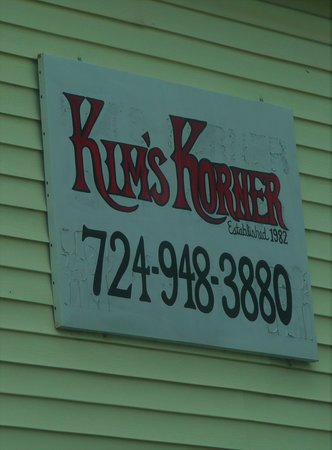 Claysville, PA: Kim's Korner, established 1982