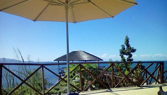 Maleri Island, Malawi: Daytime blue...