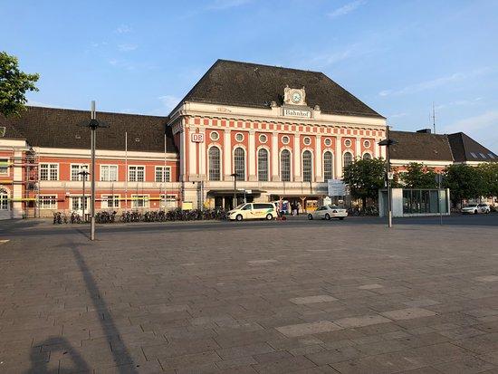Hamm, Germany: Baudenkmal Hauptbahnhof