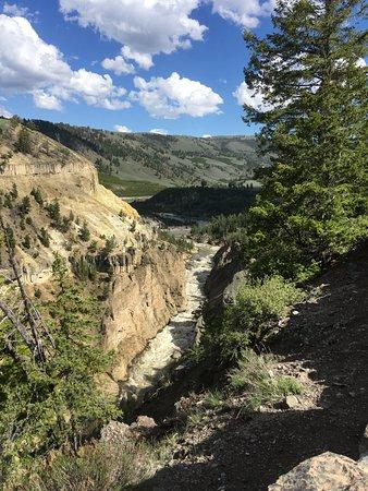 Yellowstone National Park: Gardiner river