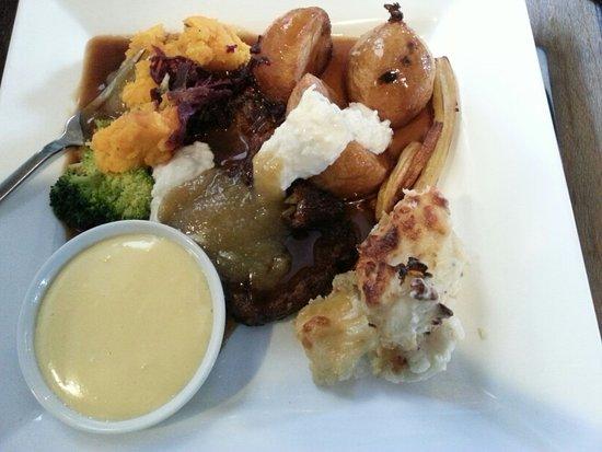 The Cott Inn: Sunday Lunch