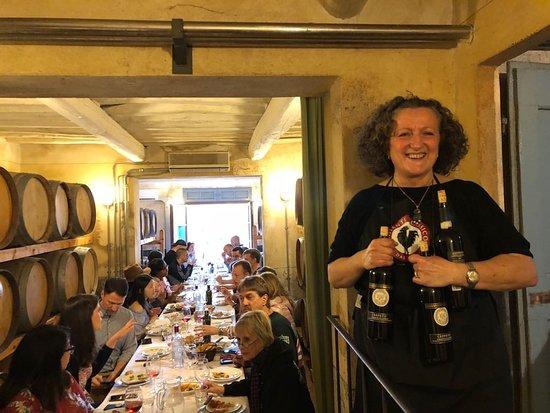 Mannucci Droandi: Degustazione in cantina