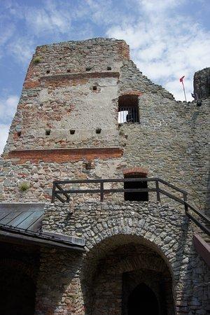 Czorsztyn Castle: Ruiny.